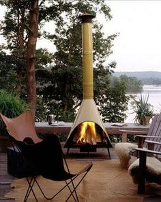 We are exploring how to decorate the outdoor space of our home in this edition of How to Decorate Like an Adult! Take your outdoor space to the next level. Outdoor Rooms, Outdoor Living, Outdoor Decor, Outdoor Seating, Modern Backyard, Backyard Ideas, Fire Pit Backyard, Chiminea Fire Pit, Fire Pits