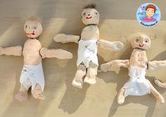 Baby's knutselen met kleuters 2, thema baby, kleuteridee.nl, Kindergarten baby theme