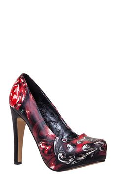 Iron Fist Womens To The Grave Platform Shoes ** You can get additional details at the image link.