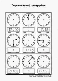 ... a dokładniej to lapbook o czasie, jego mierzeniu i odczytywaniu na zegarach wskazówkowych i cyfrowych, powstał w ostatnich dniach w nasz... Children, Kids, Education, Learning, Books, School Stuff, Therapy, Note Cards, Clock