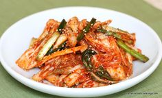 How to make Quick & Fresh Kimchi, Baechu Geotjeori | Crazy Korean Cooking
