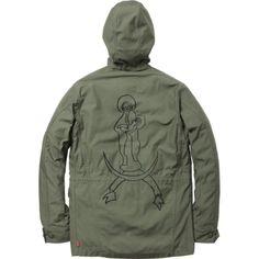 Supreme x Mark Gonzales - M-51 jacket