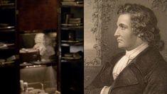 Bust of Johann Wolfgang von Goethe in Sherlock's bedroom