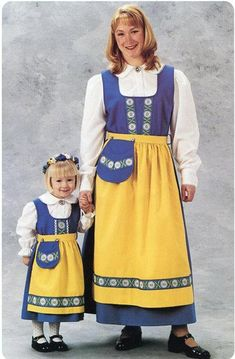 Sweden Swedish National Costume Dress Ladies sizes in Clothing, Shoes, Accessories, Women's Clothing, Dresses Folk Costume, Costume Dress, Girl Costumes, Costumes For Women, Sweden, Swedish Girls, Swedish Women, Costumes Around The World, Ethnic Dress