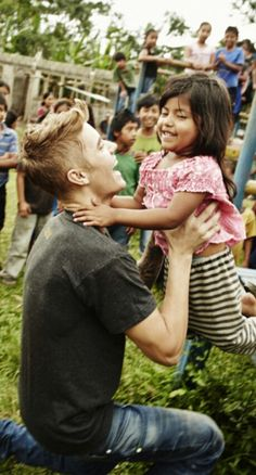He will be a great father someday...