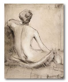 Another great find on #zulily! Neutral Nude Study II Gallery-Wrapped Canvas #zulilyfinds