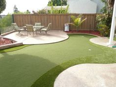 Backyard mini golf c