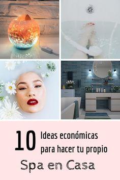 No Solo DIY: Ideas económicas para tu spa en casa Belleza Diy, Ideas, At Home Spa, Wicker Baskets, Fresh Flowers, Flawless Skin, Exfoliating Scrub, Skin Care, Thoughts