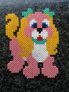 Dog perler beads by Machele Schouten-Wouters