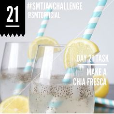 Day 28 Task | Make A Chia Fresca