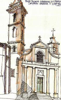Tempio Pausania, Kathedrale, 1999, I | Flickr - Photo Sharing!