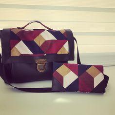 mag__alie Ce qui est génial avec la couture c'est qu'on peut assortir son portefeuille et son sac à main!!! Deux patrons de la boutique @patrons_sacotin le complice et le quadrille (taille médium)  #sacotin #patronpdf #coutureaddict #cousumain #passioncouture #accessoirecouture