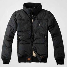 Ralph Lauren Polo Mens Down jacket In Black