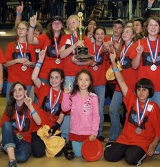 Sewickley Academy students win the 2009 Science Olympiad State Championship.