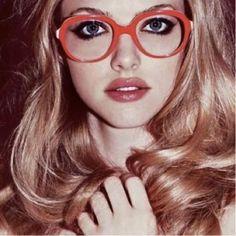 sweet #Vintage orange glasses