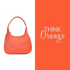Nothing turns heads like a bright pop of Orange! Get yours at http://bit.ly/10oisXC