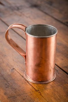 Gorgeous: Collector's Copper Cup on BourbonandBoots.com