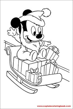 Baby Mickey Mouse Christmas Coloring Pages, disney mickey, cartoon, disney cartoon, Free online coloring pages and Printable Coloring Pages For Kids Baby Mickey Mouse, Natal Do Mickey Mouse, Mickey Mouse Template, Mickey Mouse Christmas, Mickey Y Minnie, Disney Christmas, Mermaid Coloring Pages, Bear Coloring Pages, Coloring Pages For Boys