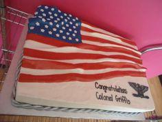 Airforce retirement cake! www.bakedinmoore.com