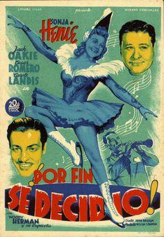 246.  SOLIGÓ. Por fin se decidió. Dirigida por John Brahm. Gerona: Ind. Lit., [1943].  #ProgramasdeMano #BbtkULL #Musicales #DiadelLibro2014