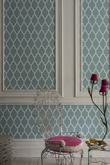 Farrow & Ball- FSC-certified paper and water-based paint wallpaper in historic patterns.