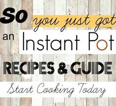 Tis the season and lots of you have yourselves a brand new shiny Instant Pot. The Instant Pot requires a bit of exprience to learn and get a hang of. Lets rip it out of the Instant Pot Pressure Cooker, Pressure Cooker Recipes, Pressure Cooking, Chicken Cooking Times, Paleo Spaghetti Squash, Stupid Easy Paleo, Slow Cooker Meatloaf, Sausage And Peppers, Stuffed Peppers