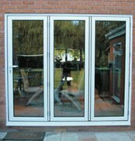Bi-Folding Doors - Belfast Northern Ireland Double Glazing uPVC Windows and Doors Conservatories Bangor Newtownards Lisburn Newtownabbey Repairs