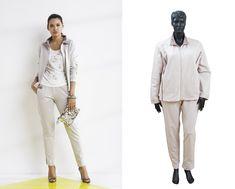12c35c2a38c Модная и удобная новинка из новой коллекции Francesca Mercuriali -  спортивный жакет и брюки из высококачественного