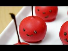 Cherry Kids Bonbon Chocolate Cake Pop-- remind me of one of my favorite childhood books, 'The Great Cherry Migration'!