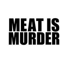 Meat Is Murder Sticker