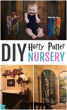 Whether your new baby is a muggle or a wizard, you'll be inspired by this amazing DIY Harry Potter nursery. With owl decor, cleverly placed movie quotes, wonderfully framed photos and other magical touches, you'll want to switch rooms with your newborn!