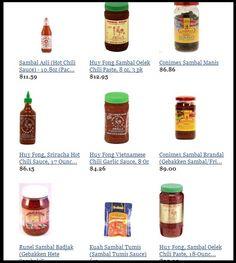 At Sambal Bajak store, you can Buy Various High Quality Sambal Products from Global Sambal Suppliers and Sambal Manufacturers: http://sambalbajak.com/sambal-store/