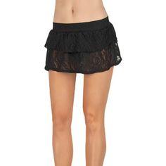 04db50aa5fd42 OP Juniors Ruffled Swim Cover-Up Skirt Swim Cover
