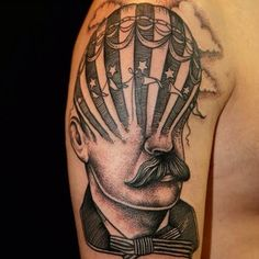 The work is both beautiful… | This Tattoo Artist Creates Surrealist Tattoos That Are As Confusing As They Are Beautiful