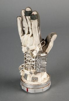 "Glove worn by astronaut Scott Carpenter on Mercury ""Aurora 7,"" launched May 24, 1962. On that mission, Carpenter became the fourth American in space and the second to go into orbit."