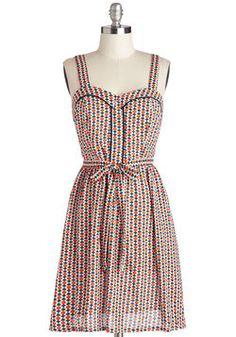 Playful Picnic Dress, #ModCloth  has summer holidays written ALL over it :-)