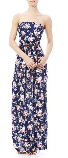 Vivo Clothing Floral Maxi Dress