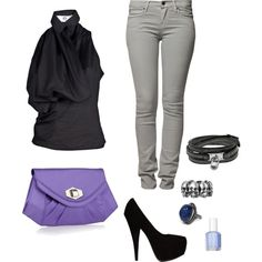 Night Out, created by rachelreichert on Polyvore