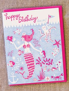 Under the Sea card by Hello! Lucky