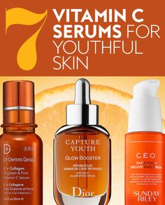 These serums are packed with the powerful ingredient. #vitaminc #serums #youthfulskin #skincare