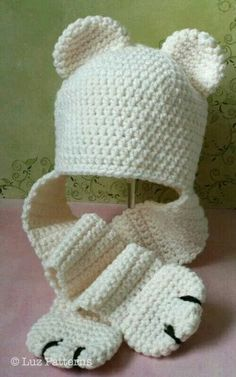 Winter Hat & gloves