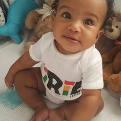 Cooyah baby in the Bahamas wearing an irie onesie $15 at cooyah.com #reggae  #love