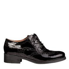 Pantofi dama negri 2443 piele lacuita Oxford Shoes, Women, Fashion, Moda, Fashion Styles, Fashion Illustrations, Woman