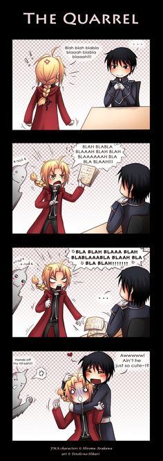 FMA - The quarrel by Tenshi-no-Hikari.deviantart.com on @deviantART