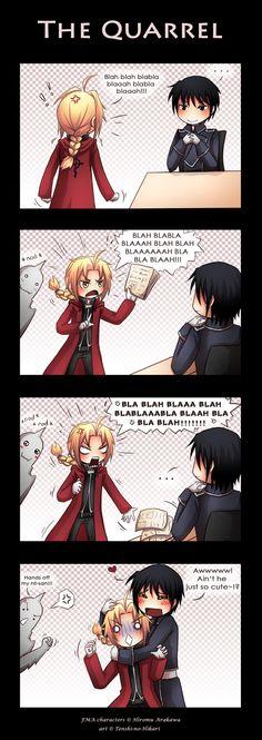 FMA - The quarrel by Tenshi-no-Hikari.deviantart.com on @deviantART
