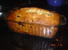 healthier blueberry banana bread