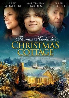 "This drama paints the early life of Christian artist Thomas Kinkade in inspiring colors. Jared Padalecki plays the future ""Painter of Light,"" who comes back from college to learn that h Xmas Movies, Hallmark Christmas Movies, Hallmark Movies, Family Movies, Christmas Music, Great Movies, Holiday Movies, Cottage Christmas, Merry Christmas"