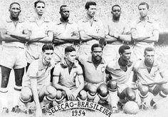 Melhores jogadores de futebol do Mundo: Convocação da Seleção Brasileira nas Copas do Mundo Fifa: Copa de 1954