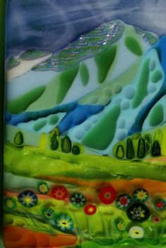 Mountain Meadow Surprise - Delphi Stained Glass