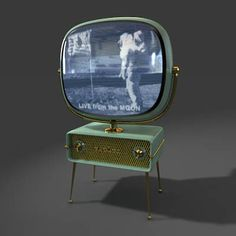 I just love the design of these mid century  Philco Predicta televisions. www.turbosquid.com/3d-models/tv-television-3d-model/199463